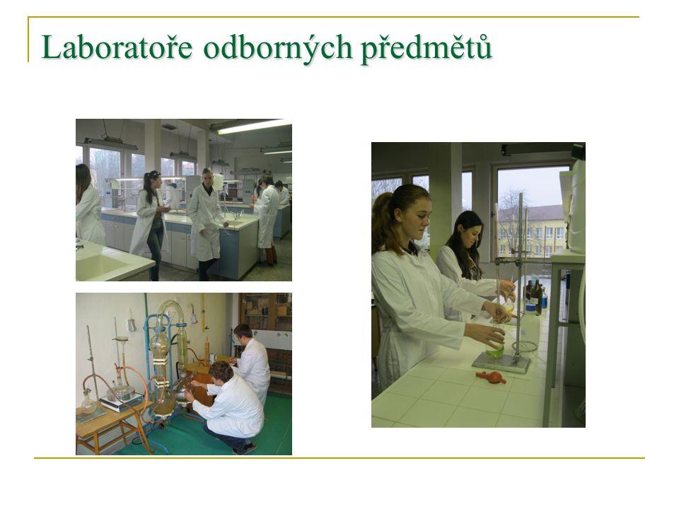 Laboratoře odborných předmětů
