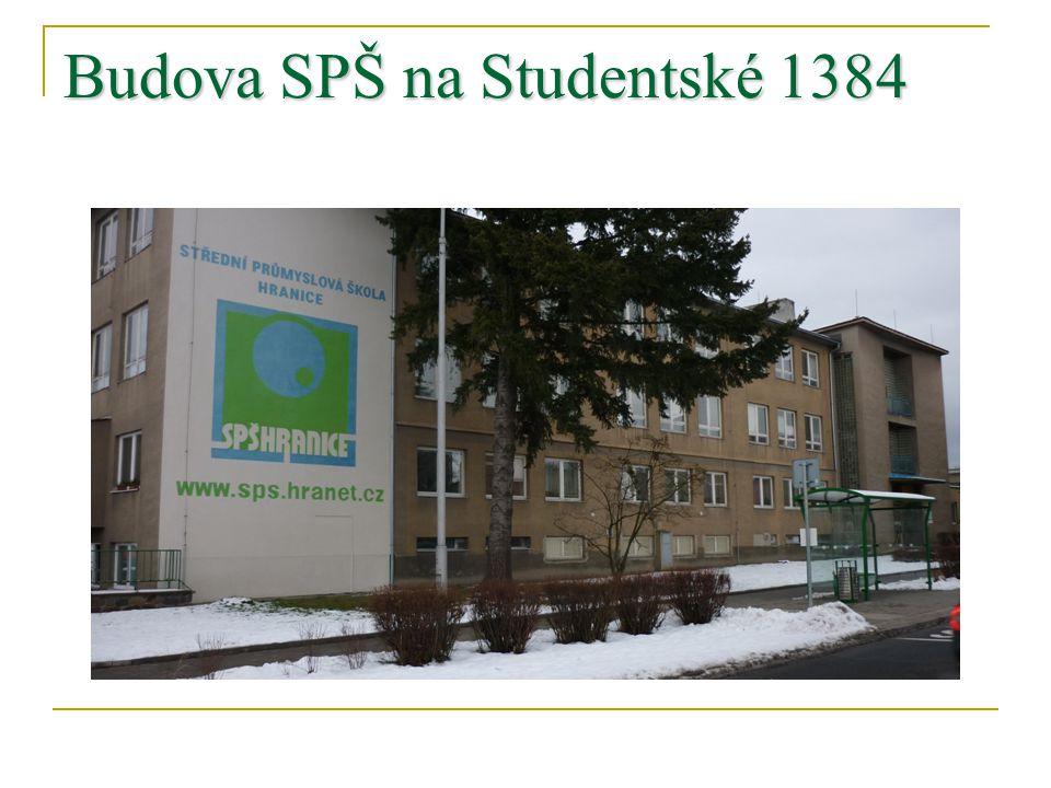 Budova SPŠ na Studentské 1384