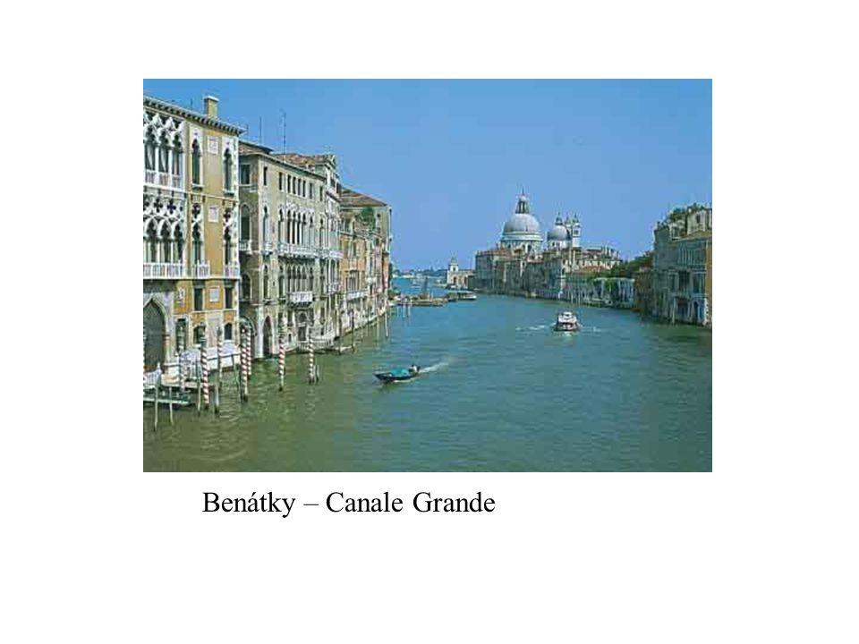 Benátky – Canale Grande
