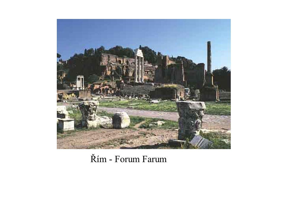 Řím - Forum Farum