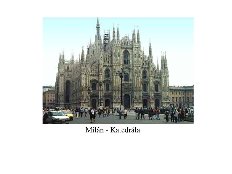 Milán - Katedrála