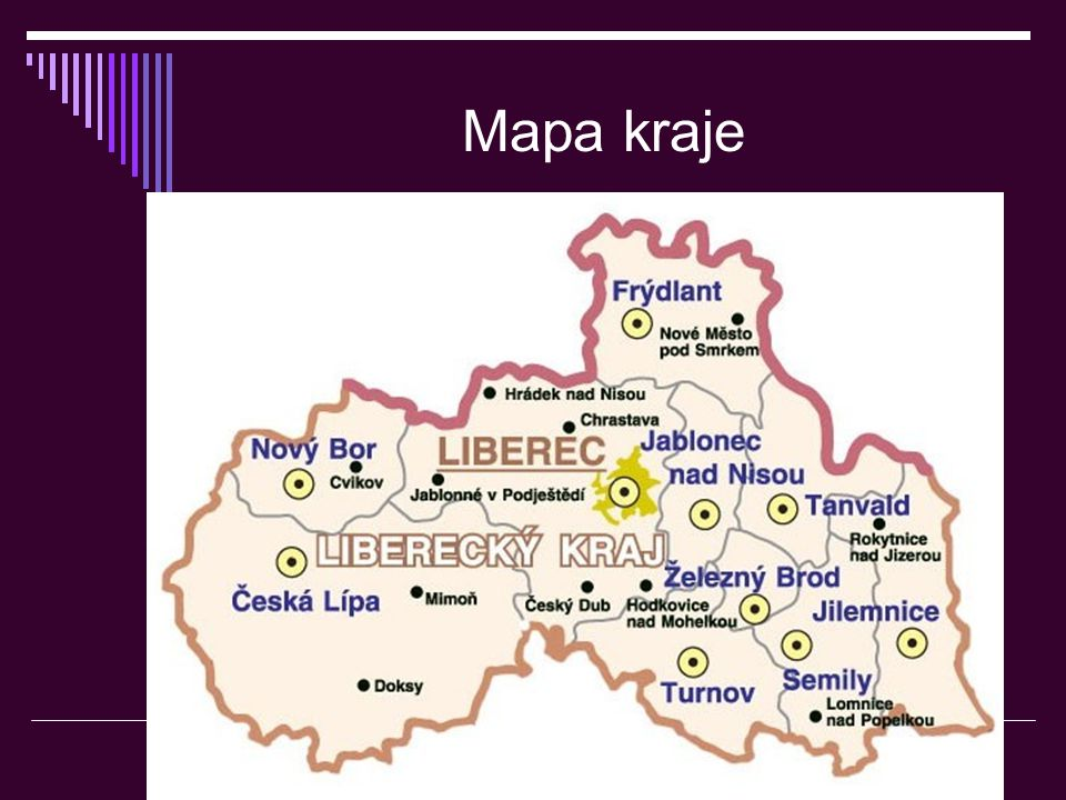 Mapa kraje