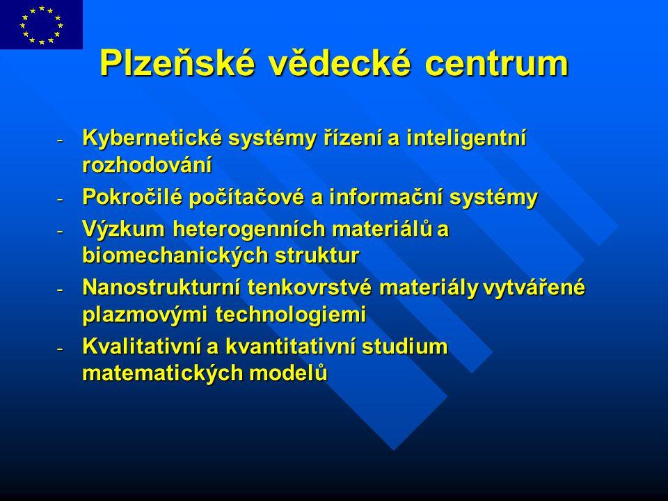 Plzeňské vědecké centrum - Kybernetické systémy řízení a inteligentní rozhodování - Pokročilé počítačové a informační systémy - Výzkum heterogenních m