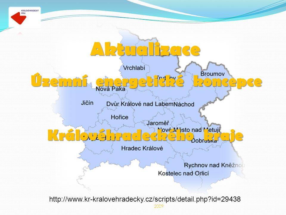 Aktualizace Územní energetické koncepce Královéhradeckého kraje 2009 http://www.kr-kralovehradecky.cz/scripts/detail.php id=29438