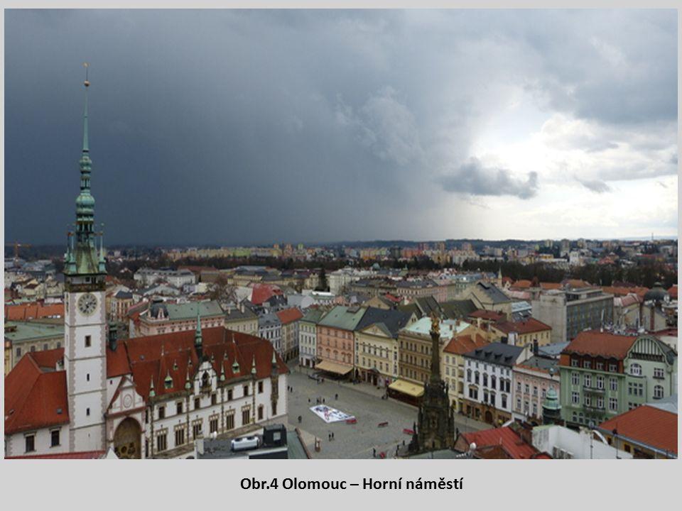 Obr.4 Olomouc – Horní náměstí