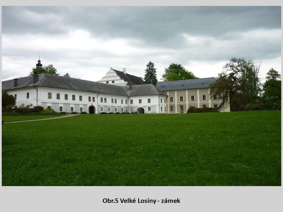 Obr.5 Velké Losiny - zámek
