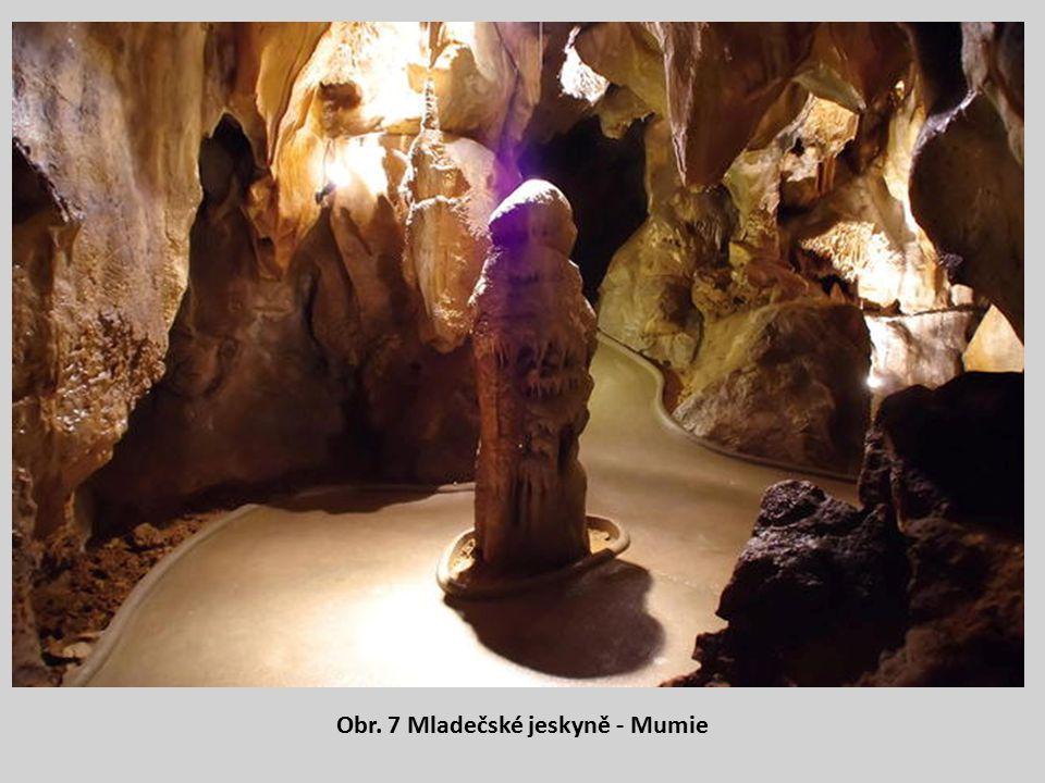 Obr. 7 Mladečské jeskyně - Mumie