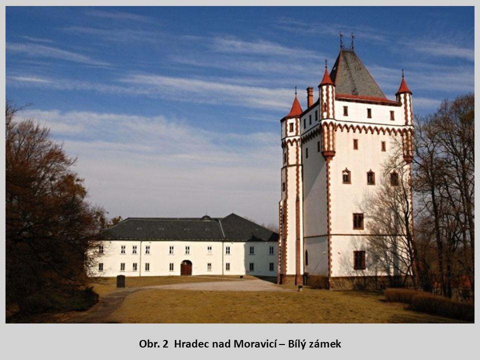 Obr. 2 Hradec nad Moravicí – Bílý zámek