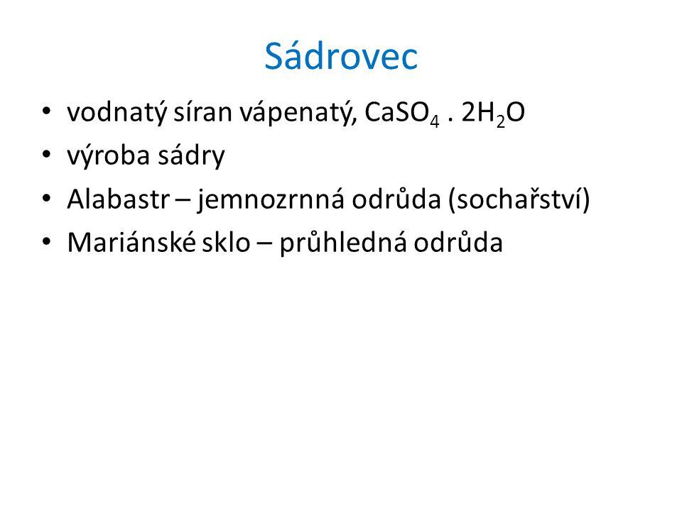 Dusičnany dusičnan sodný, NaNO 3 dusíkatá hnojiva, střelný prach Ledek (chilský ledek) web2.mendelu.cz/.../hnojiva/mineralni/lav.jpg