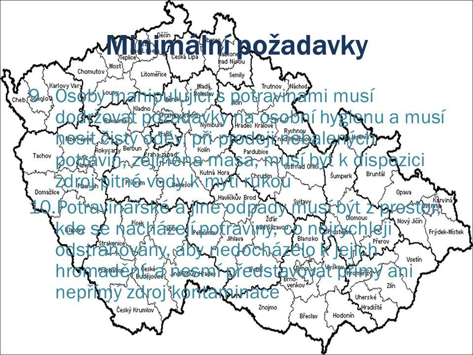 (Farmářské) TRHY V ČR je pod veterinárním dozorem 195 tržišť Farmářské trhy se v roce 2011 konaly na 142 z nich Bylo zkontrolováno 146 tržišť při celkem 465 kontrolách Zjištěno 51 závad a uděleno 48 pokut Pokuty ve výši 204 000,- Kč