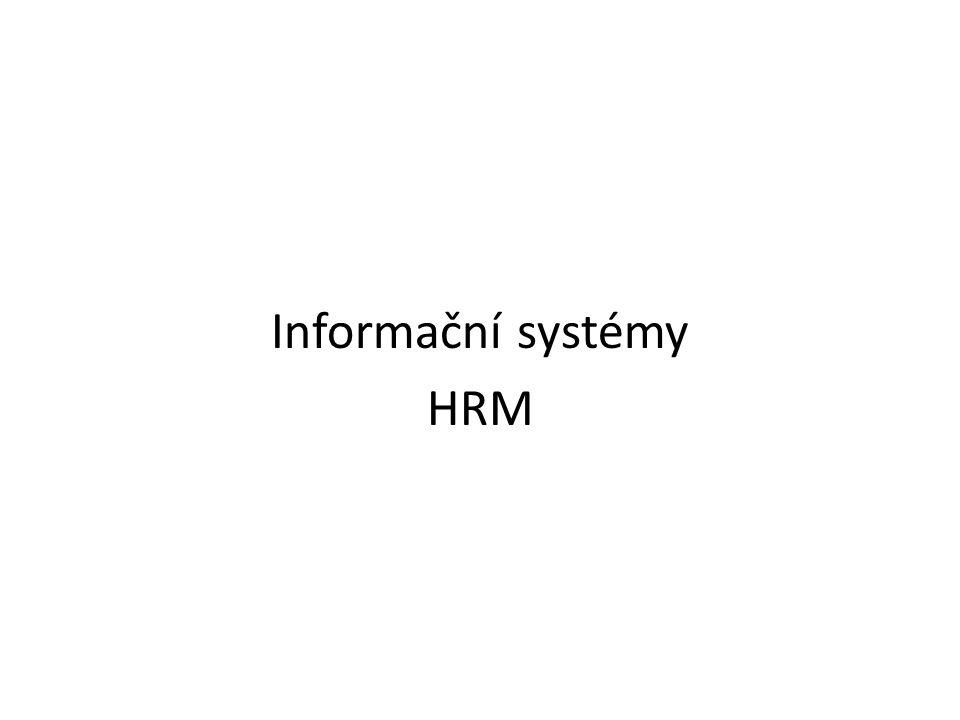 Informační systémy HRM