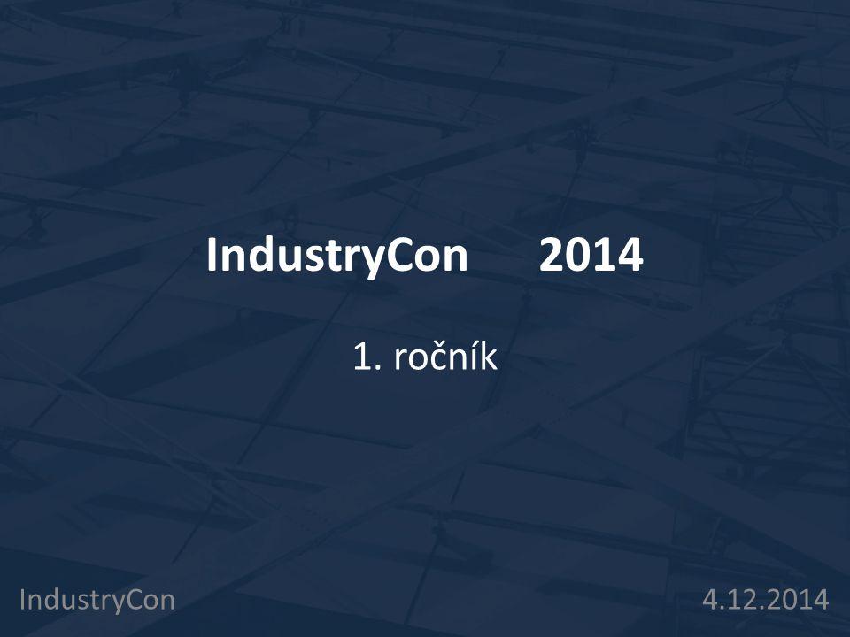 IndustryCon 4.12.2014 Kolik zařízení se staví/ připravuje.