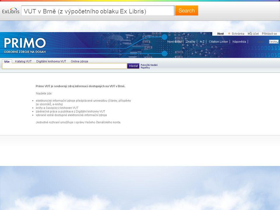 VUT v Brně (z výpočetního oblaku Ex Libris)