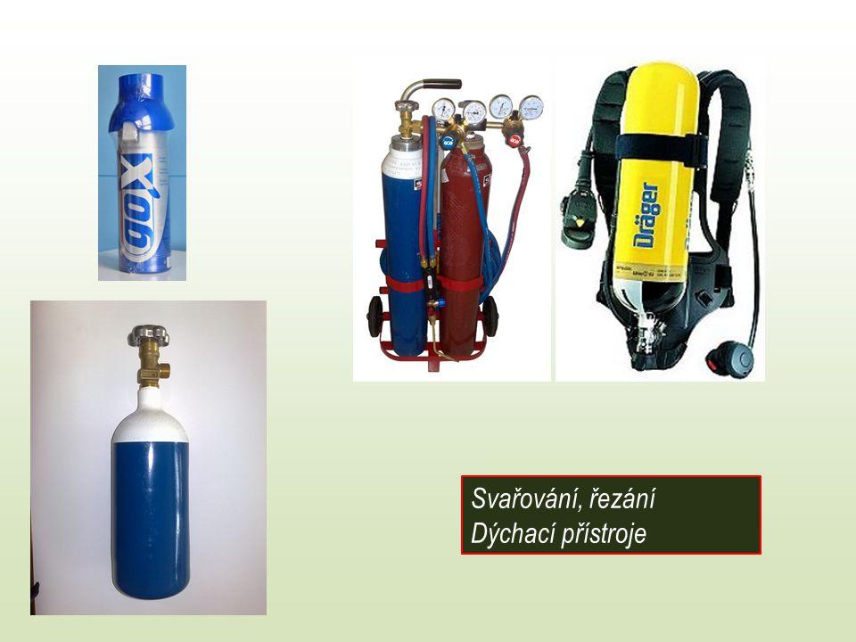 Svařování, řezání Dýchací přístroje