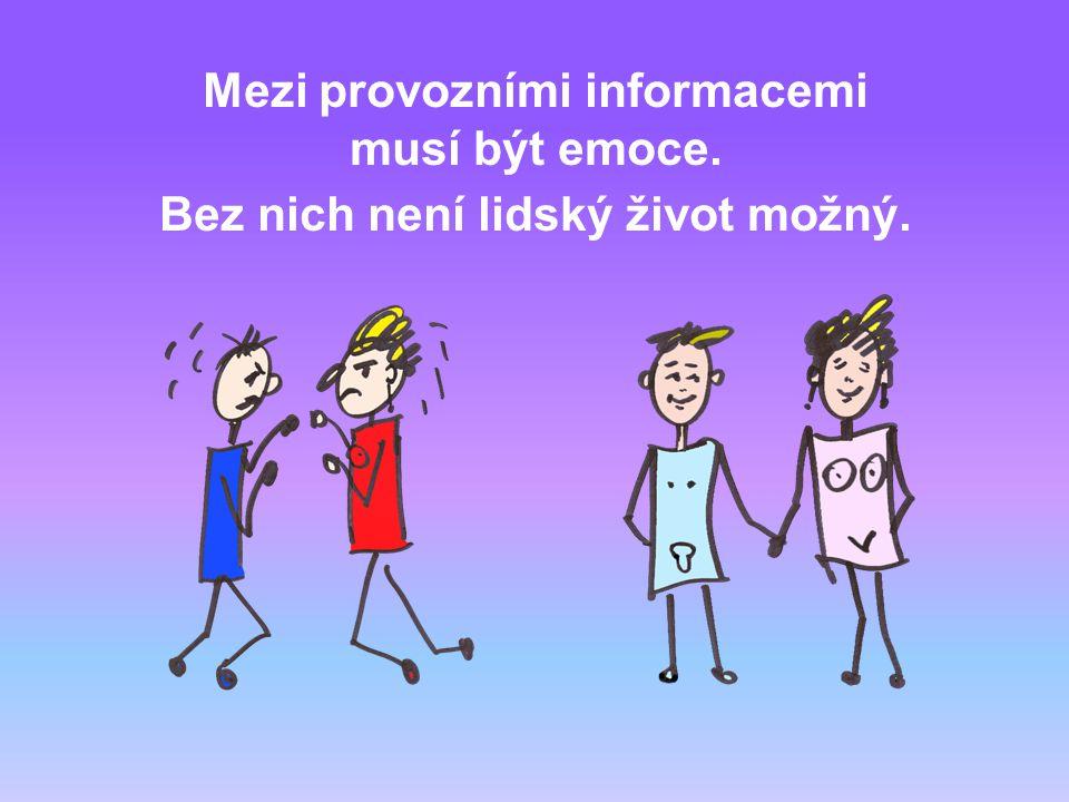 Energie se však nešíří bezúčelně. Nese informace. Mnoho informací.