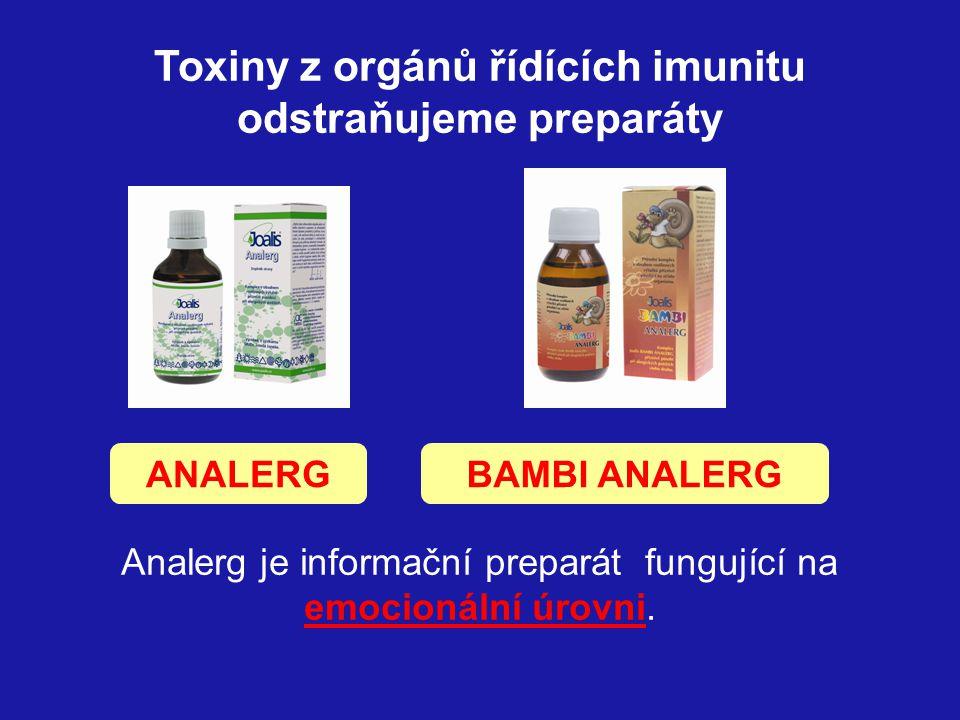 Alergik je chybná imunitní reakce, způsobená narušením řízení imunitního systému toxiny.