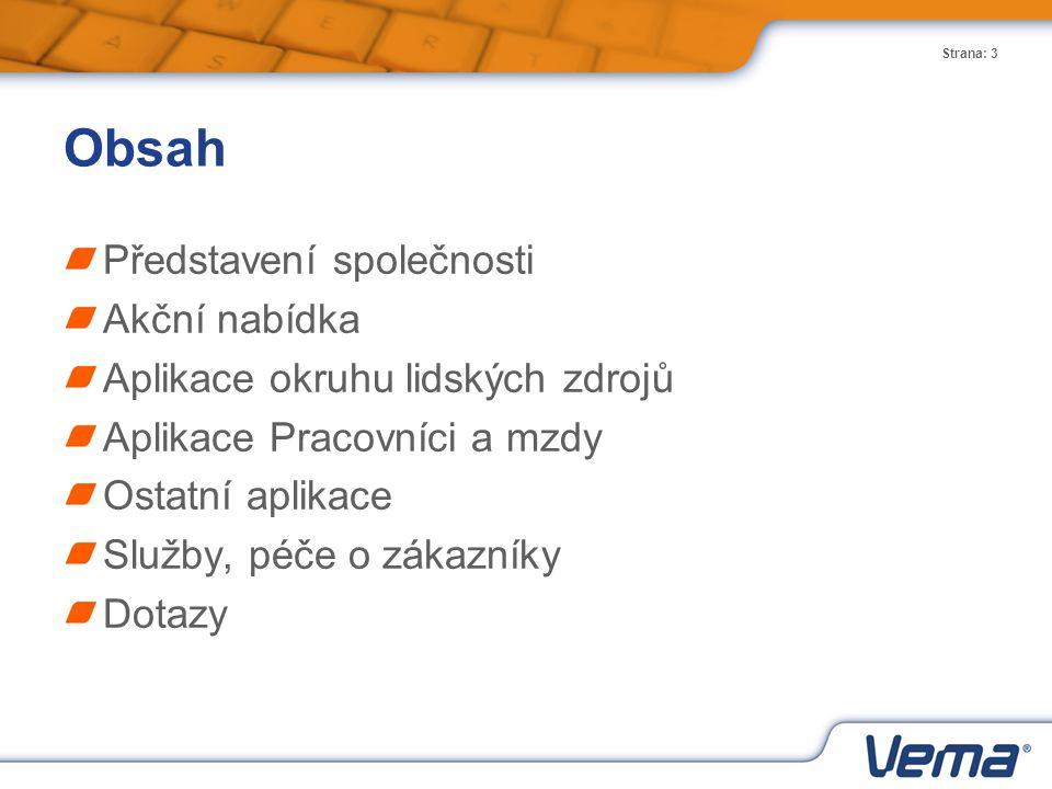 Strana: 4 Vema, a.s.