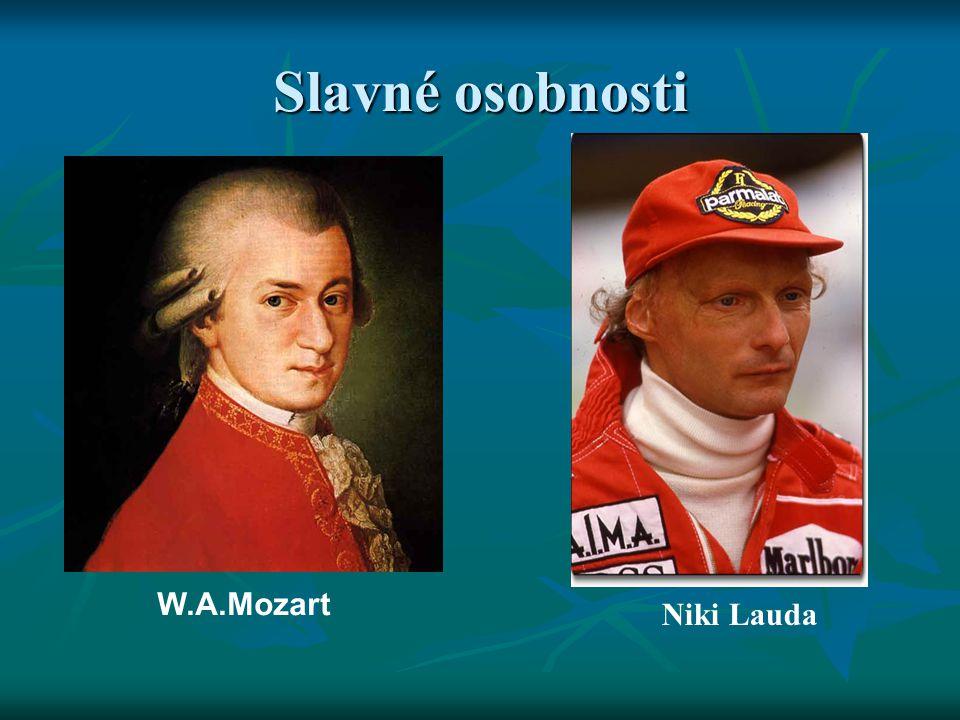 Slavné osobnosti W.A.Mozart Niki Lauda