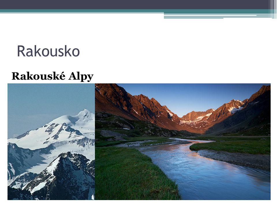 Rakousko Rakouské Alpy