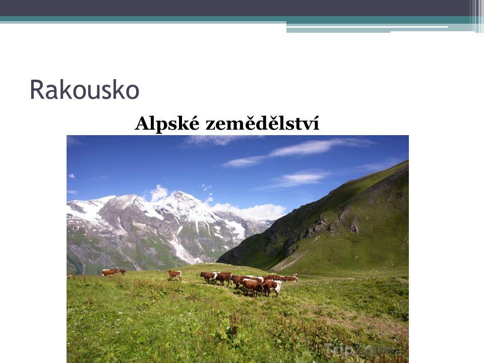 Rakousko Alpské zemědělství