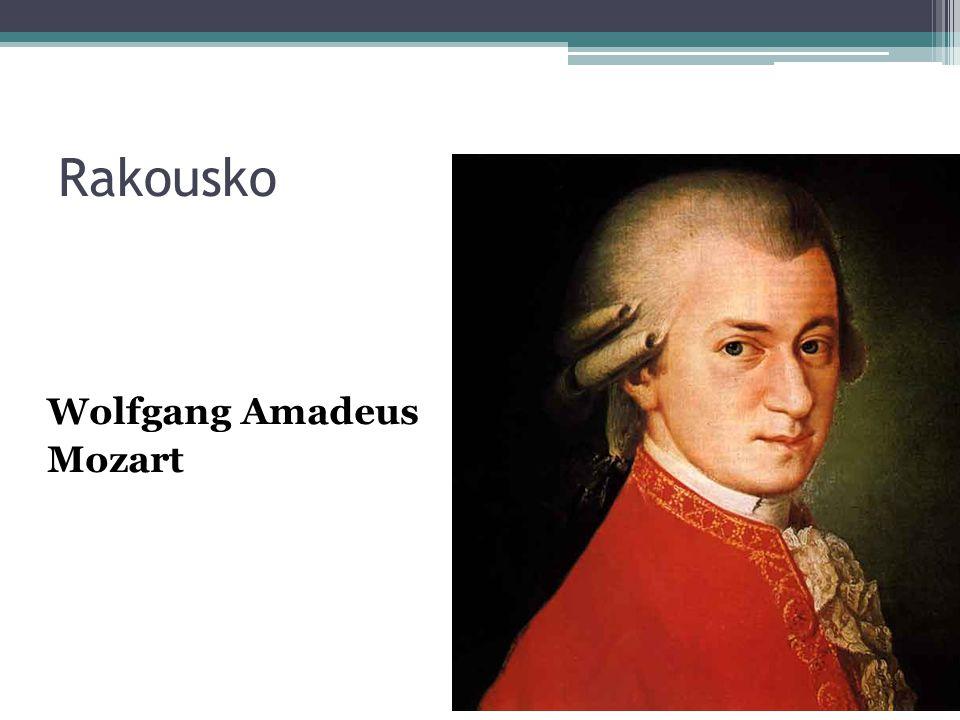 Rakousko Wolfgang Amadeus Mozart
