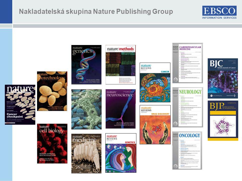 Nakladatelská skupina Nature Publishing Group