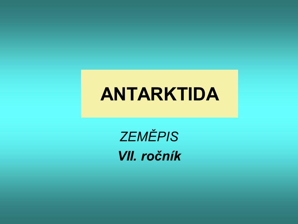 ANTARKTIDA ZEMĚPIS VII. ročník