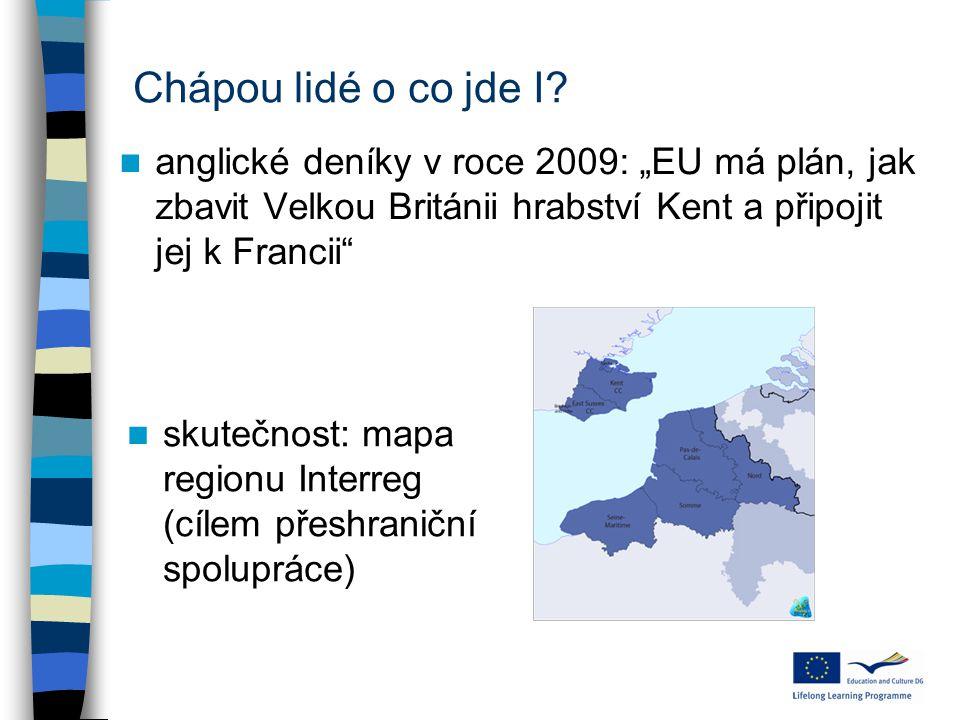 """Chápou lidé o co jde I? anglické deníky v roce 2009: """"EU má plán, jak zbavit Velkou Británii hrabství Kent a připojit jej k Francii"""" skutečnost: mapa"""