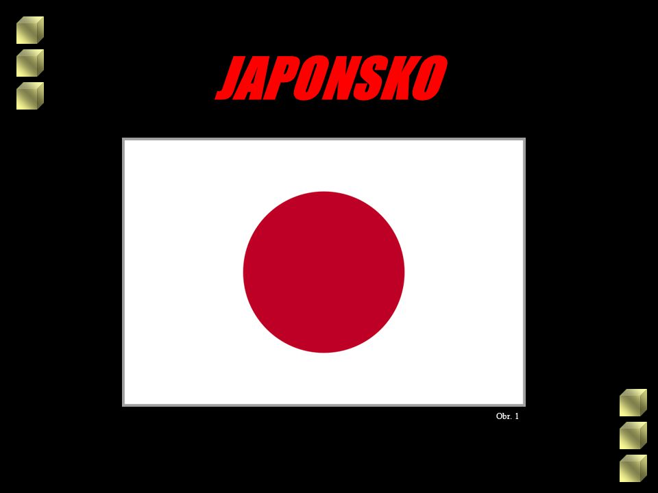 JAPONSKO Obr. 1