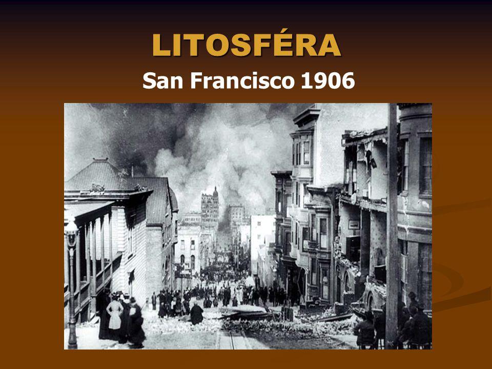 LITOSFÉRA San Francisco 1906