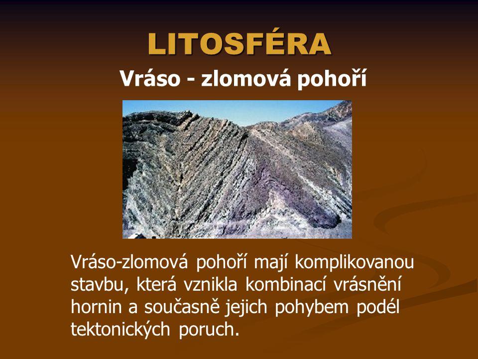 LITOSFÉRA Exogenní pochody  jejich hlavními příčinami jsou sluneční záření, rotace a gravitace Země.