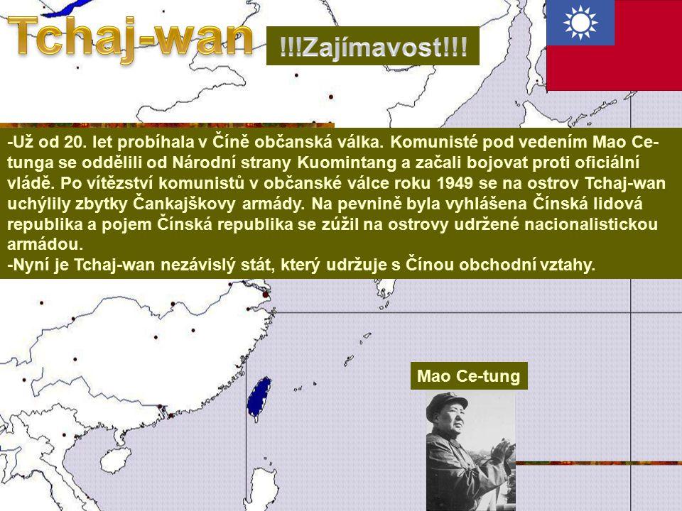 -Už od 20.let probíhala v Číně občanská válka.