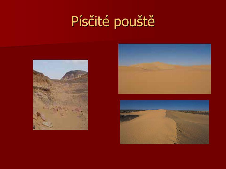 Písčité pouště