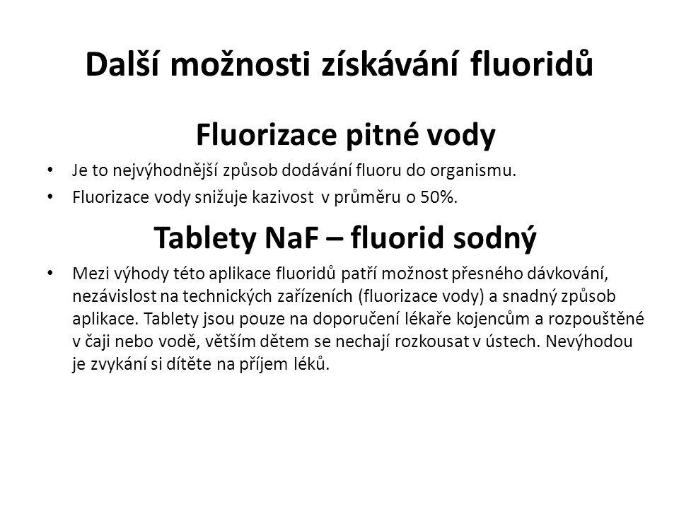 Bezpečnost Fluorid sodný je toxický při použití.