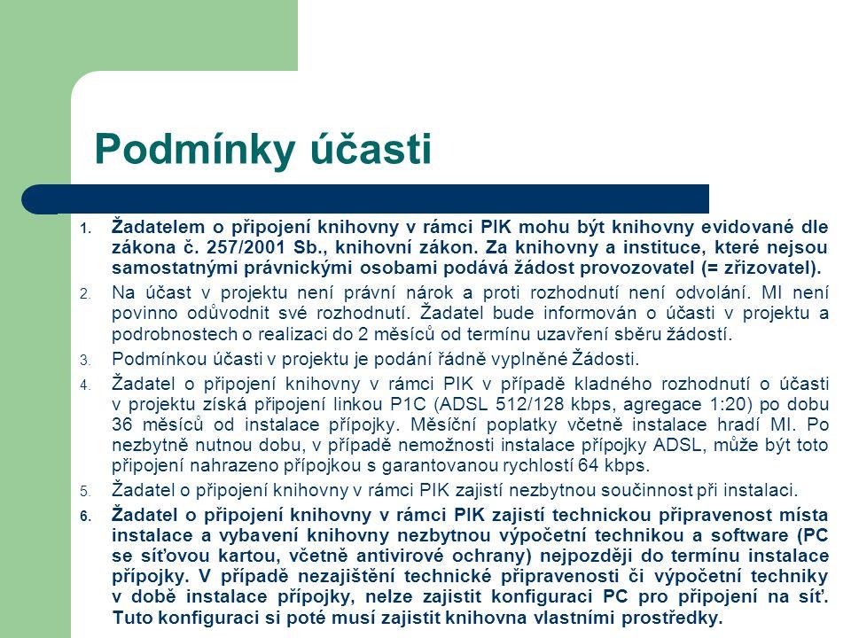 Podmínky účasti II.7.