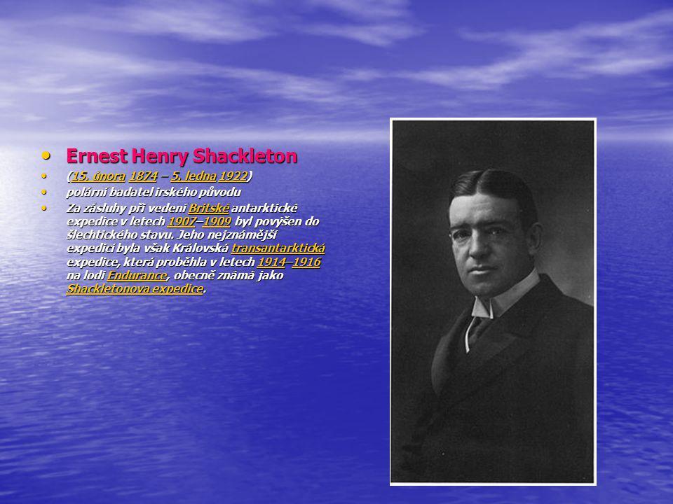 Arktida Robert Edwin Peary Robert Edwin Peary (6.května 1856 - 20.