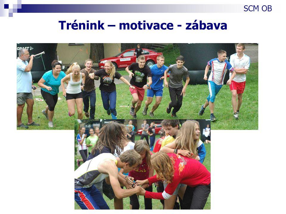 SCM OB Trénink – motivace - zábava