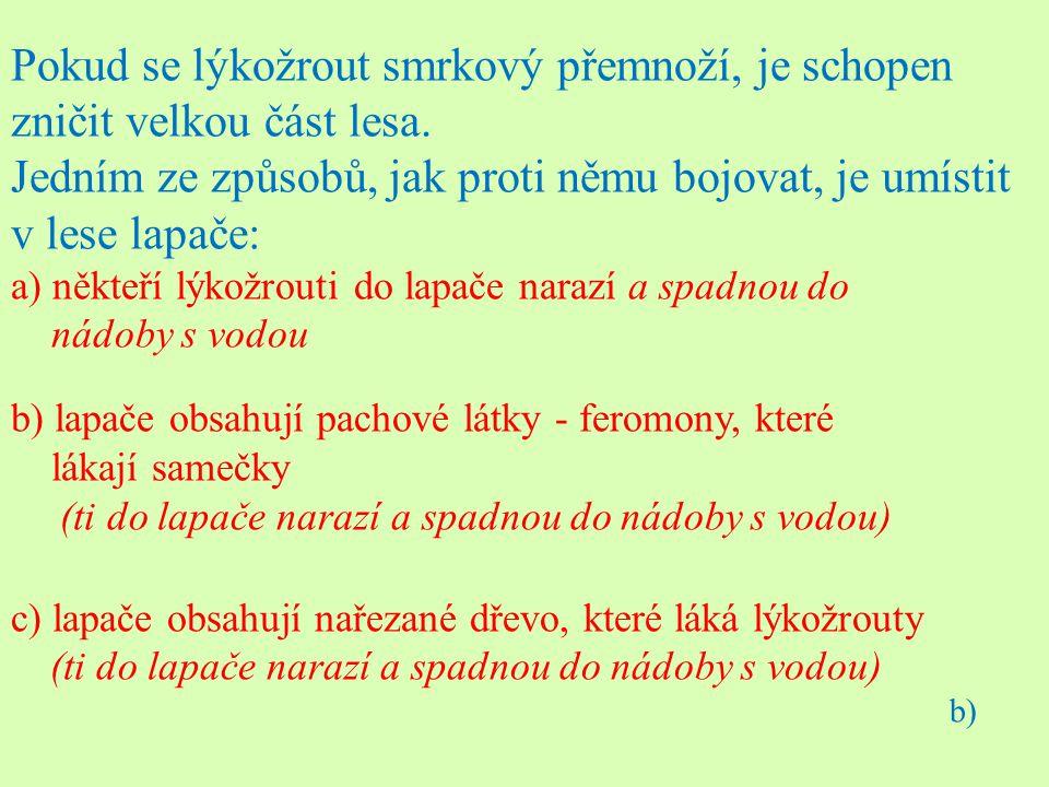 Zdroje: Dobroruka L., Gutzerová N., Havel L., Kučera T.: Přírodopis II, Scientia, Praha, 1998, ISBN 80-7183-134-4 Čabradová V., Hasch F., Sejpka J., Vaněčková I.: Přírodopis 7, Fraus, Plzeň, 2005, ISBN 80-7238-425-2 Čížková V.: Učební úlohy z biologie, Olomouc, 2003, ISBN 80-7182-164-0 Švecová M., Toběrná V.: Botanika, ČGS, Praha, 1998, ISBN 80-86034-28-3 GRACLÍK, Petr.