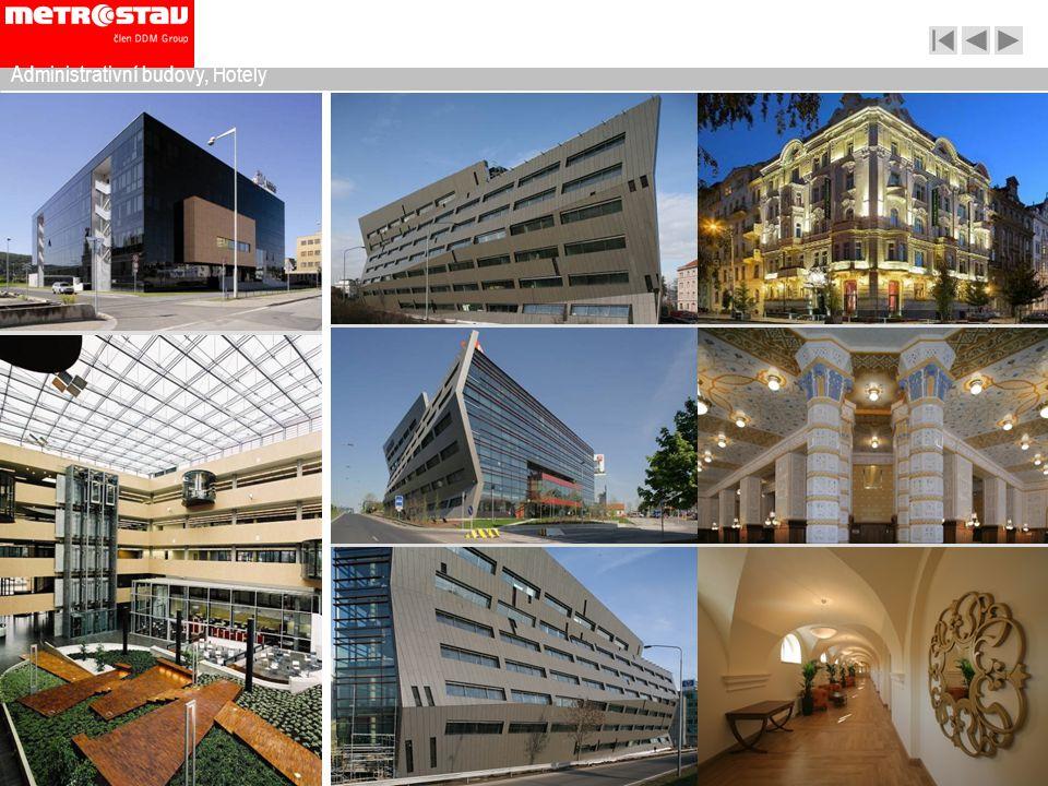 Administrativní budovy, Hotely