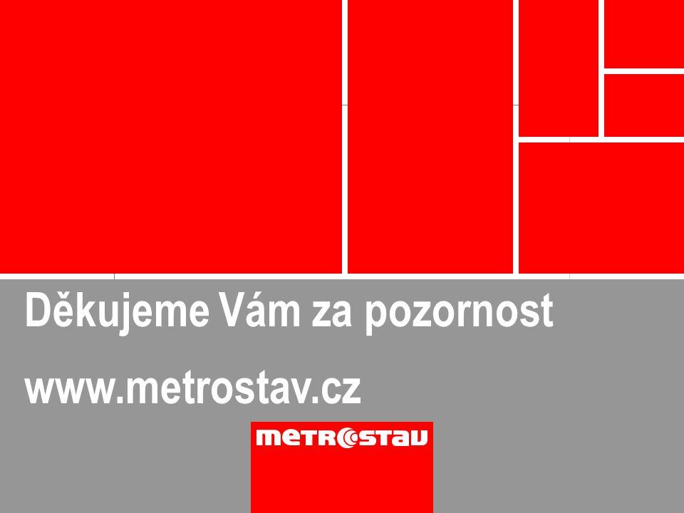 Děkujeme Vám za pozornost www.metrostav.cz