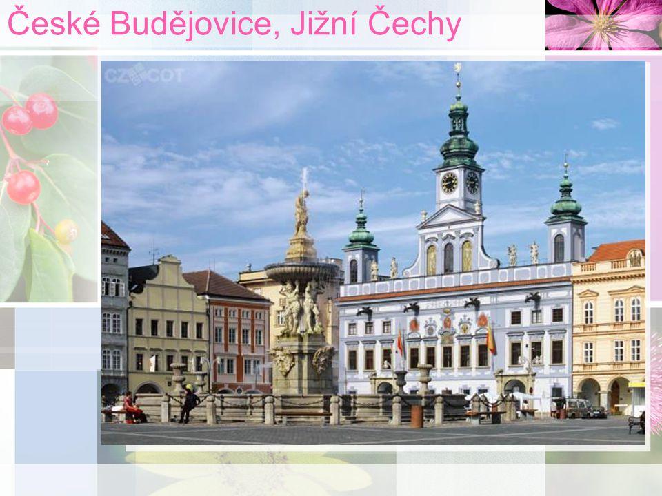 České Budějovice, Jižní Čechy