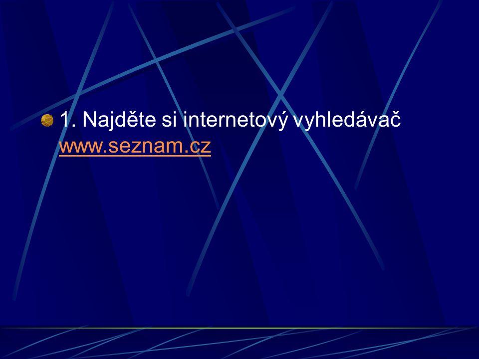 2. Na tomto vyhledávači najděte, jaké počasí je dnes v Brně