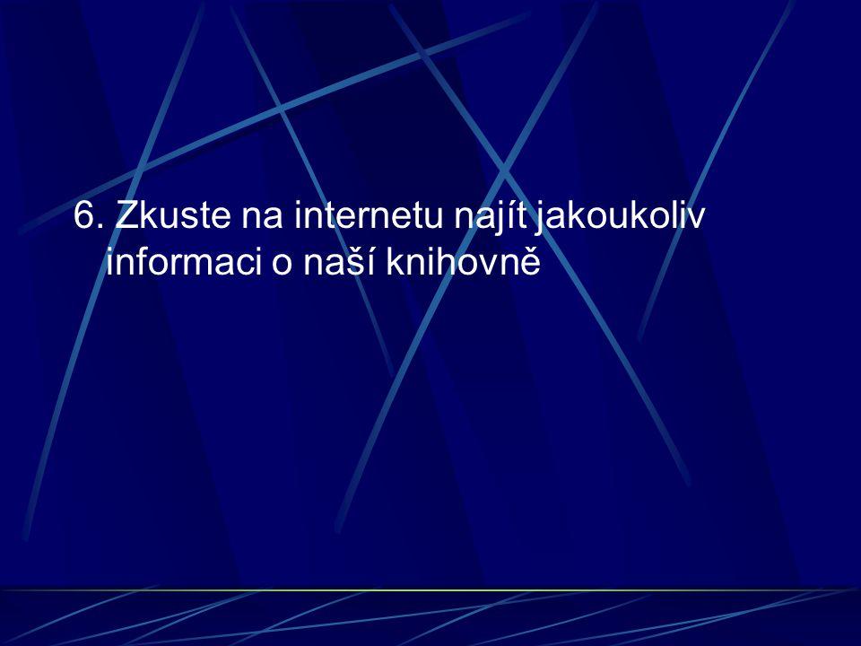 7. Na stránkách www.alik.cz najděte, kde mohou děti hrát hrywww.alik.cz