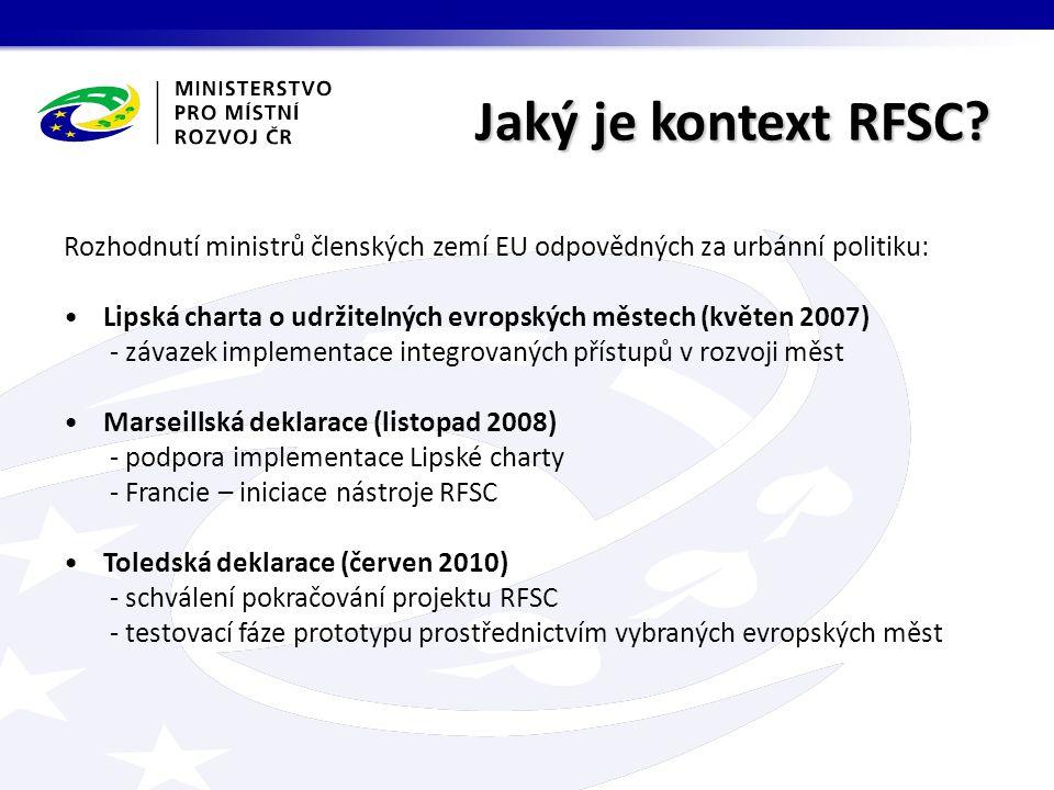 Jaký je kontext RFSC.