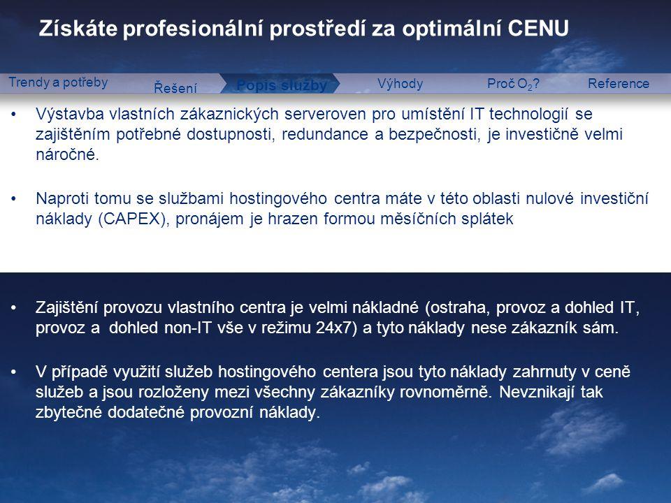 Public Administration & Business Solutions Získáte profesionální prostředí za optimální CENU Řešení Popis služby VýhodyProč O 2 ?Reference Trendy a po
