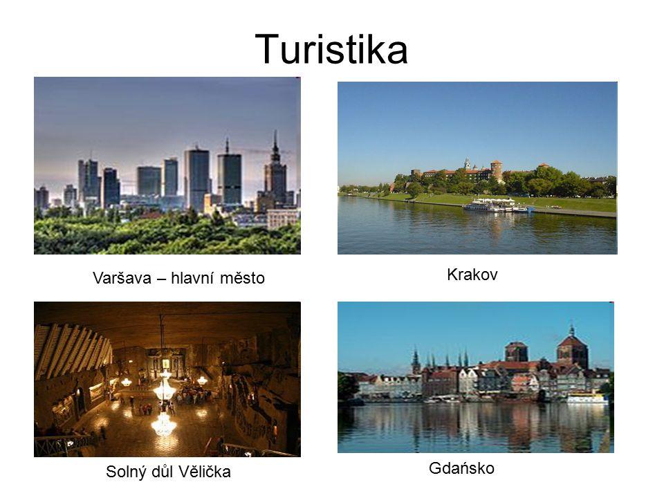 Turistika Varšava – hlavní město Krakov Solný důl Vělička Gdańsko