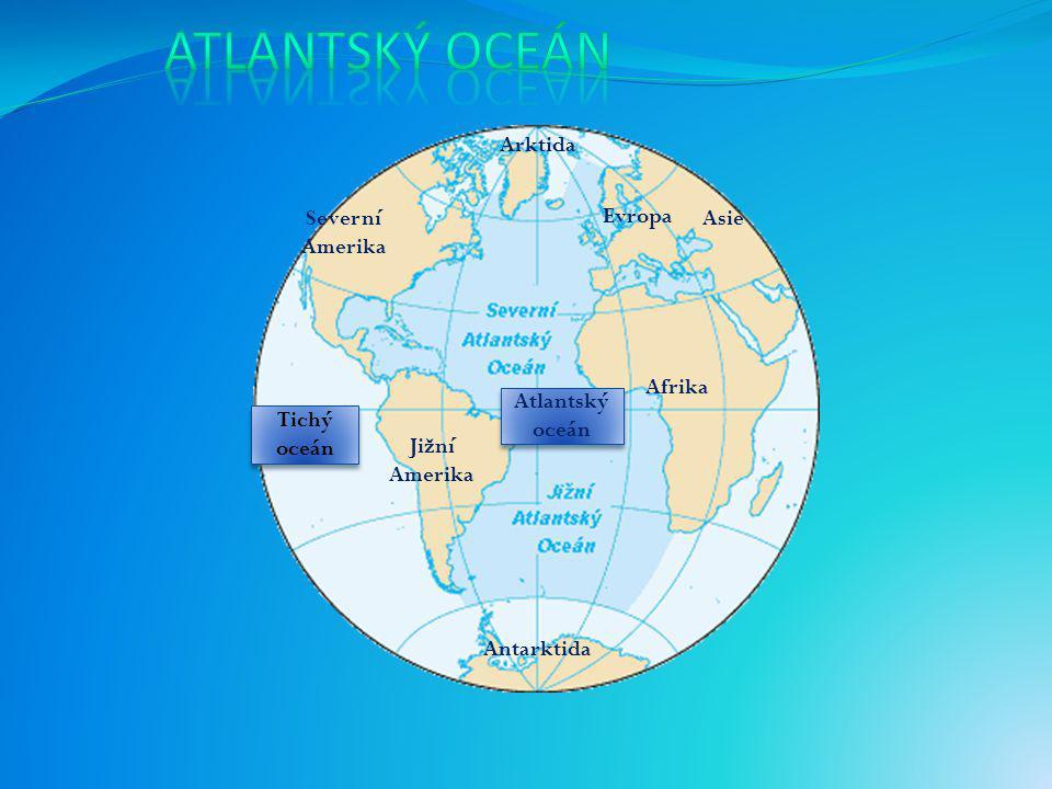 """Původ názvu """"Atlantský oceán"""" pochází z řecké mytologie. Podle ní byl Atlas obr, který podpíral nebeskou klenbu. Řecké jméno Atlantis thallasa znamená"""