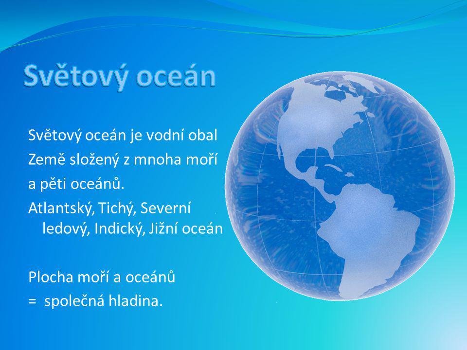 Řasy a bakterie, které jsou v oceánech, produkují jednu třetinu kyslíku na zemi. Oceán také v létě pohlcuje teplo a v zimě ohřívá vzduch, bez něj by n