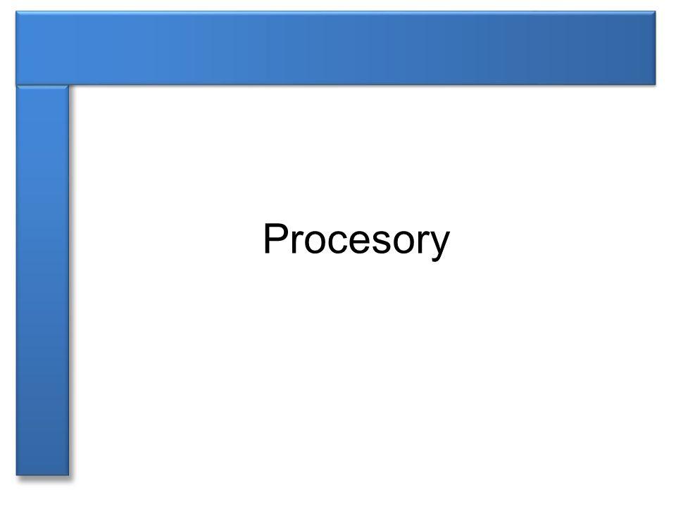 ►označován CPU (Central Procesing Unit) ►základní součást počítače, která vykonává strojový kód spuštěného programu ►v dnešní době je procesor umístěn v jednom křemíkovém čipu – mikroprocesor ►dnešní procesory – velikost cca 4 cm 2 se stovkami pinů Procesor [1]