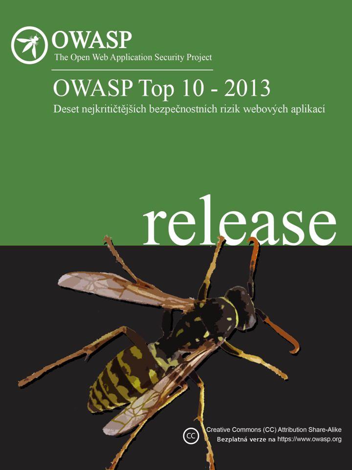 O O OWASP Autorská práva a licence Copyright © 2003 – 2013 The OWASP Foundation Tento dokument je zveřejněn na základě licence Creative Commons Attribution ShareAlike 3.0.